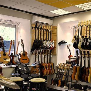 Музыкальные магазины Ертарского